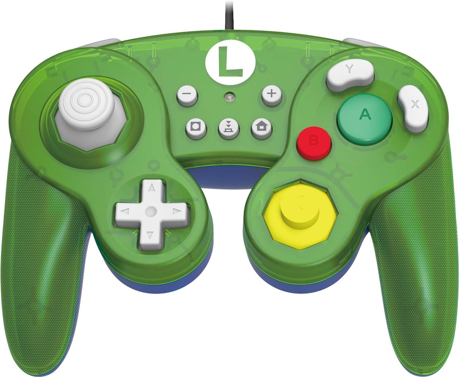 Control Para Nintendo Switch Estilo Gamecube, Luigi (xmp)