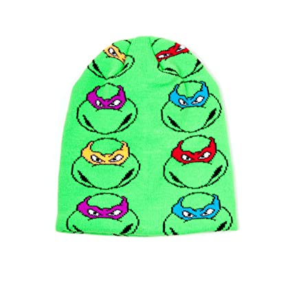 Amazon.com: Teenage Mutant Ninja Turtles Retro cuatro Face ...
