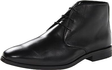 Florsheim Mens Black Jet Boots Chukka