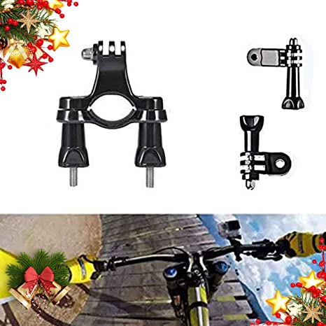 3 Gopro 3 formas bicicleta manillar tija montaje Hero Hd 1 2 4 Bicicletas Handle Bar