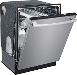 SD-6502SS: Energy Star 24″ Built-In Stainless Steel Tall Tub Dishwasher w/Smart Wash System & Heated Drying – Stainless