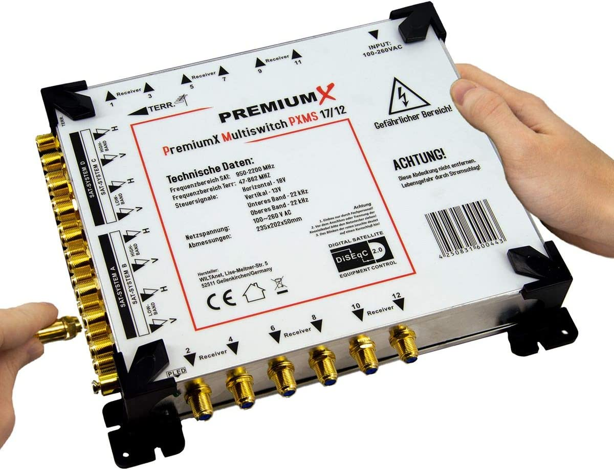 to choose from PremiumX Multi Switches 5// and 9//