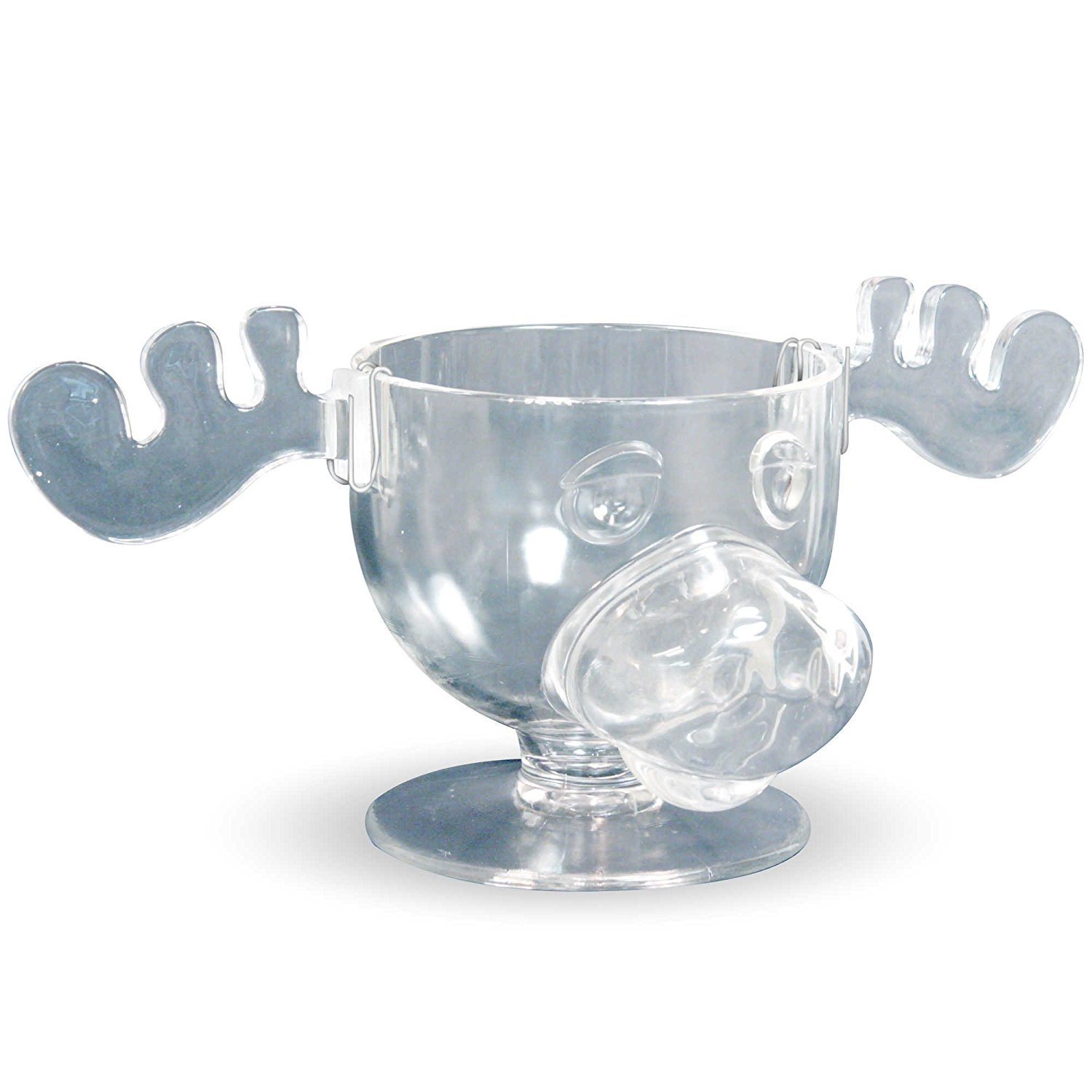 National Lampoons Christmas Vacation Moose Mug Glass Punch Bowl ICUP 10975