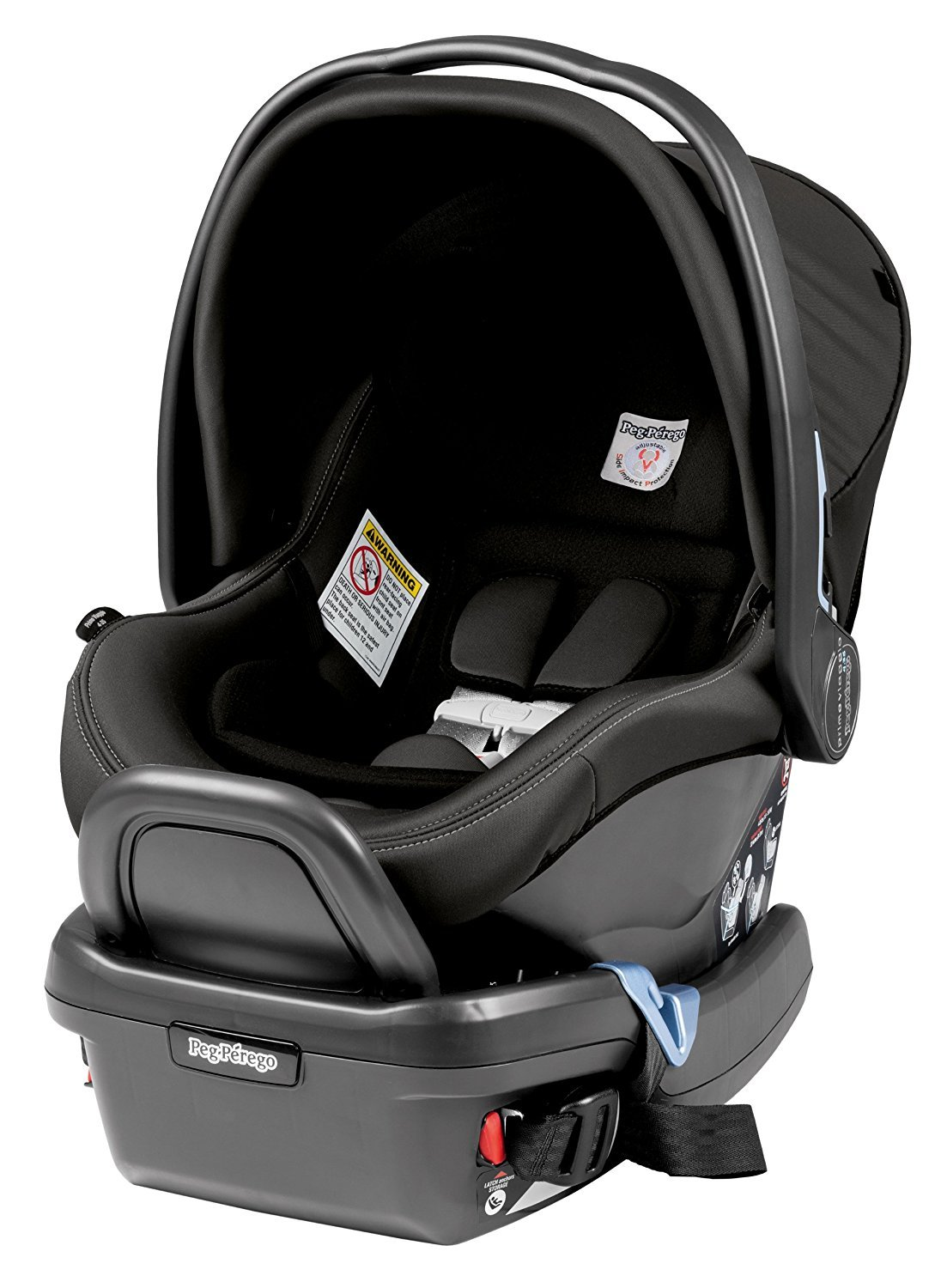 Peg Perego Triplette Piroet Pop-Up Seats and Primo Viaggio 4/35 Infant Car Seat Stroller with Diaper Bag - Atmosphere by Peg Perego (Image #4)