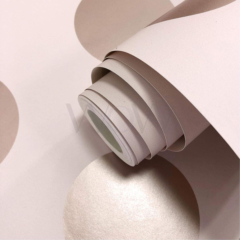 Direct Wallpapers Papier Peint /À Pois Big Dots Or Rose//Rose A617 CAO 5