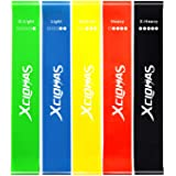 XCLOHAS Mini Loop Resistance Bands Set for Women Butt and Legs Arms Hip Training Exercise Bands Latex Resistant Loops…