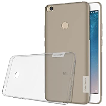 Nillkin Nature - Carcasa protectora trasera de gel / TPU para Xiaomi Mi Max 2 - Gris