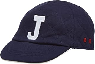 Debenhams J by Jasper Conran Kids Baby Boys' Navy Quilted Embroidered Logo Cap