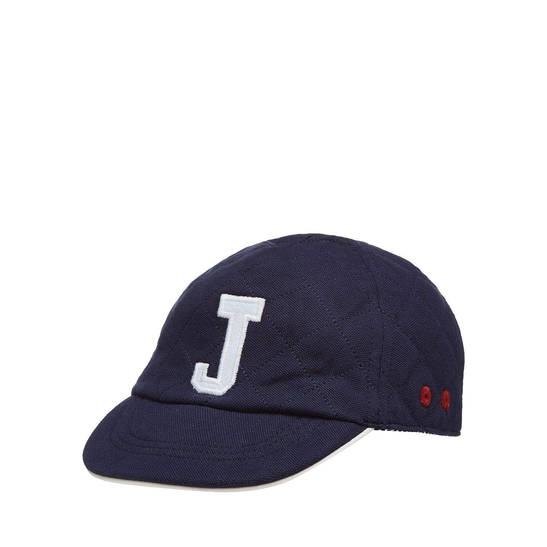 Debenhams J by Jasper Conran Kids Baby Boys' Navy Quilted Embroidered Logo Cap
