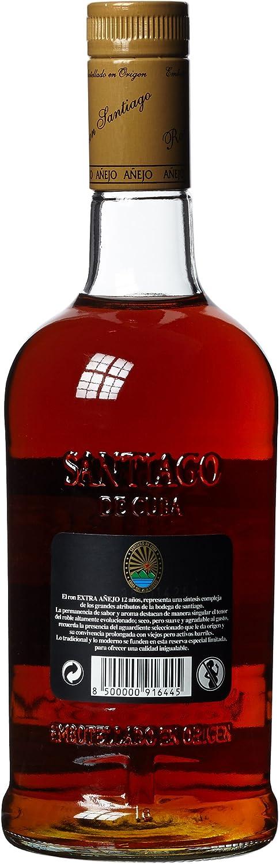 Santiago de Cuba Extra Añejo - 700 ml