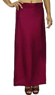 Free Size obpetticoat-10 Odishabazaar Turquoise Saree Inskirt Petticoat Cotton