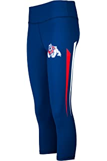 badf43c35844a6 Twin Vision Activewear Fresno State Bulldogs NCAA Women's Yoga Pant Leggings