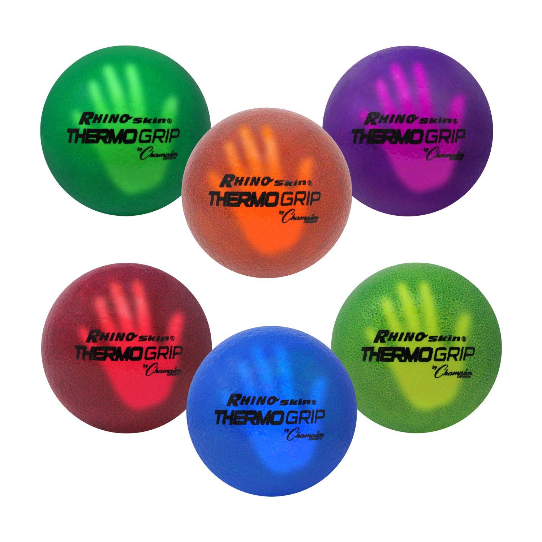Champion Sports Rhino Skin Thermo Grip Dodgeball Set by Champion Sports