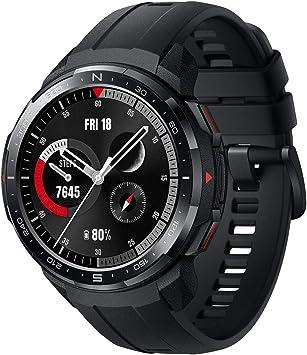 """HONOR Watch GS Pro Smartwatch Reloj Inteligente Deportivo 5ATM Resistente al Agua GPS Pulsera de Actividad 1.39"""" con Monitor de Pulsómetro Compatible con iOS y Android (Negro)"""