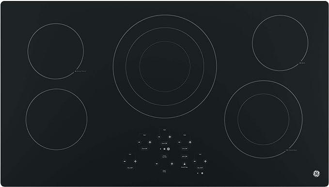 Amazon.com: GE JP5036DJBB - Placa de cocina eléctrica de ...