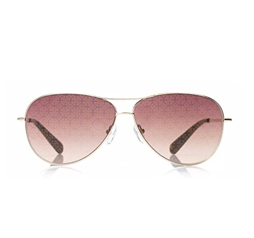 Amazon.com: Tory Burch TY 6006 – Gafas de sol Aviador 101/84 ...