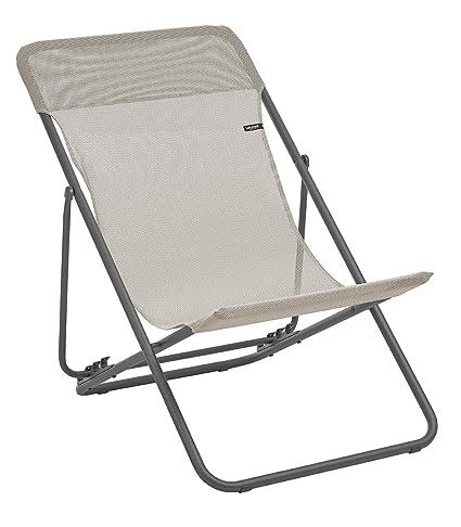 Lafuma LFM2502 8548 Folding Sling Chair, Seigle