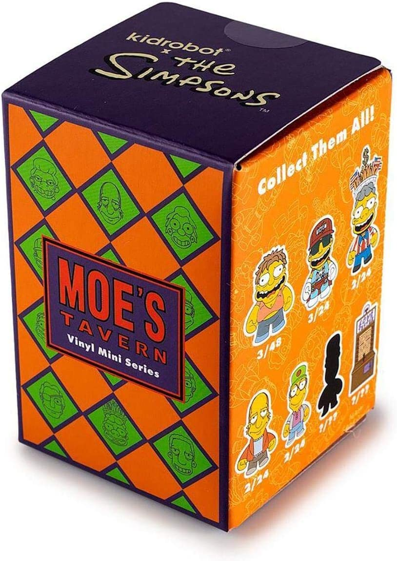 Kidrobot The Simpsons Moes Tavern Mini Series Blindbox Figures ...