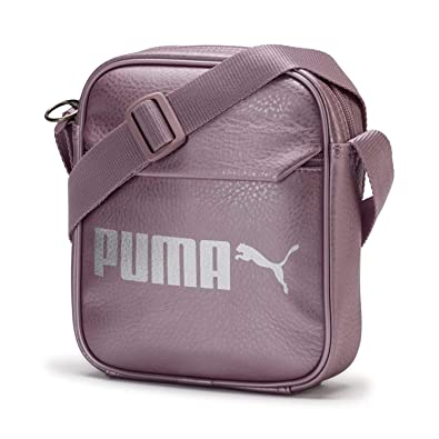 3b6f4aefc37 PUMA Campus Portable Elderberry-Puma Silver-metallic: Amazon.co.uk: Shoes &  Bags