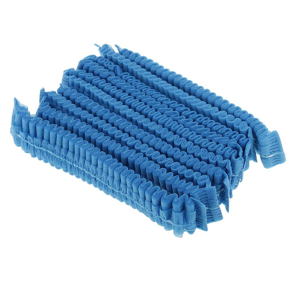 Sharplace 10 St/ück Einweg Haarnetz Haarschutz Kopfhaube Kopfschutz