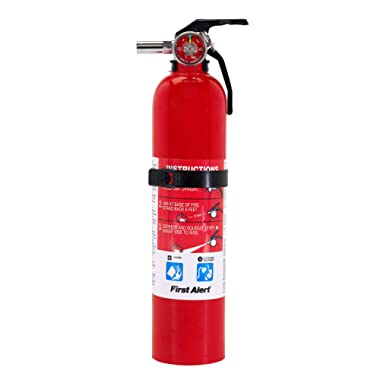 First Alert Fire Extinguisher   Garage FireExtinguisher, Red, GARAGE10 FE10GR