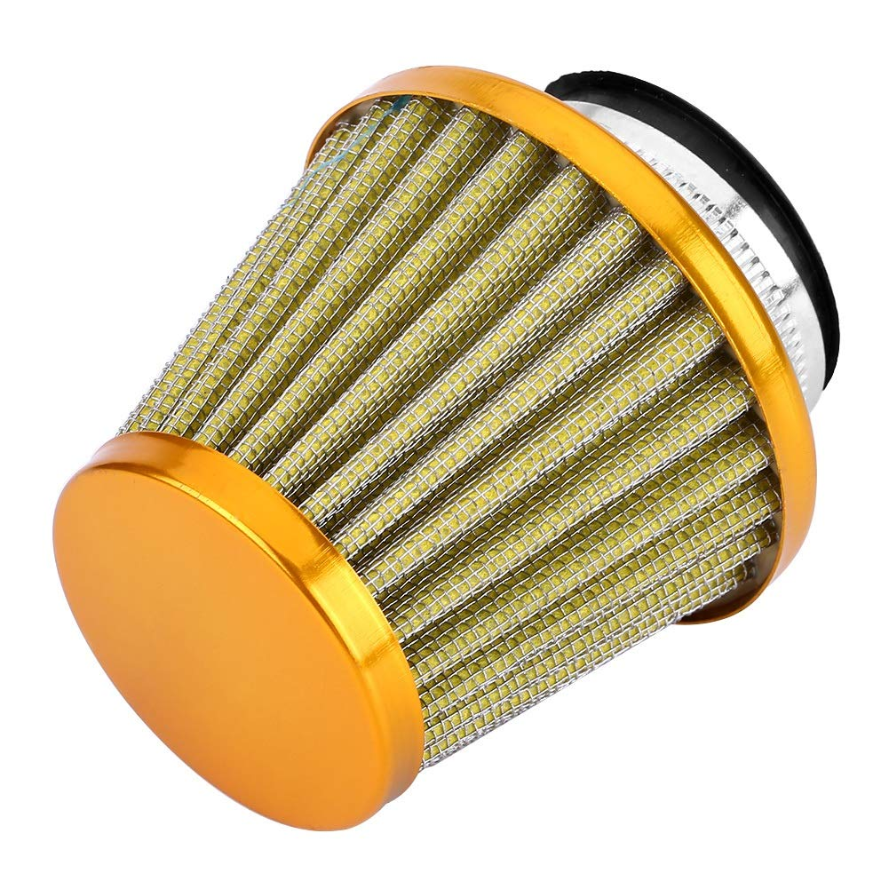 Motorcycle Air Filter-38mm Air Filter Intake Induction Kit for Off-road Motorcycle ATV Quad Dirt Pit Bike Color : Red