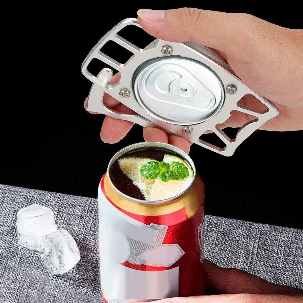 Toasses Alliage daluminium Portable Manuel de la Bouteille de bi/ère Beau pour la Cuisine pour la Cuisine Pique-Nique Barbecue