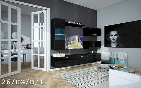 HomeDirectLTD Moderno Conjunto de Muebles de salón Future 26 ...