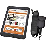 armourdog® rugged case for the Apple iPad Pro 10.5 with hand strap, shoulder strap, mPOS pouch, and tempered glass screen protector