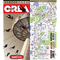 StreetSmart Orlando Map by VanDam -- Laminated, pocket sized family vacation Map to all resorts, theme parks and attractions. Legible and easy to use All Studios and International Drive. 2016 Edition