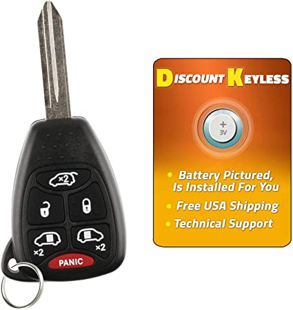NEW CASE OEM DODGE CHRYSLER VAN master key keyless entry remote fob transmitter