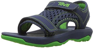 1f0bb5f7c10438 Teva Boys  T Psyclone XLT Sport Sandal Navy 4 M US Toddler