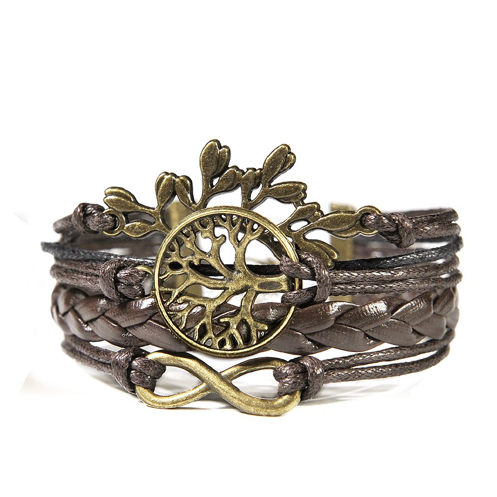 Jewelry Womens Leather Bracelet Vintage product image