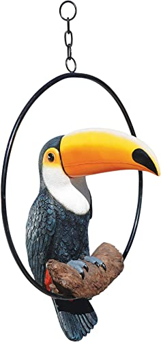 Design Toscano QL11170 Touco Tropical Toucan Statue,Full Color