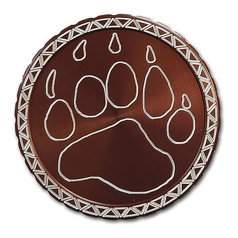 Amazon com : DipLidz Engraved snuff lid Bear Paw : Sports