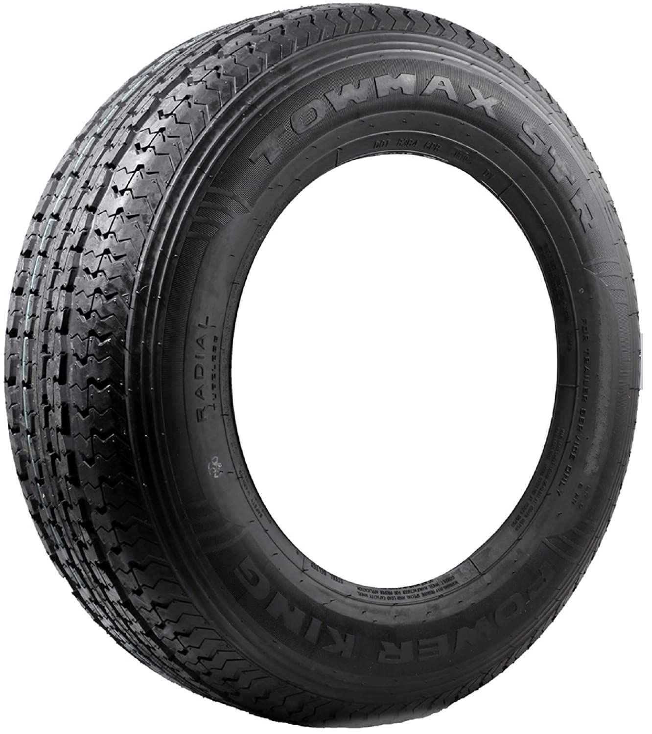 Towmax ST235/80R16 STR II 10 Ply E Load Radial Trailer Tire 2358016
