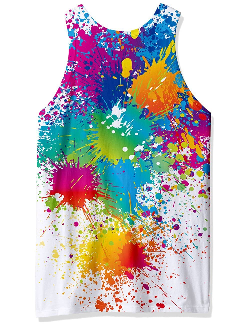 Goodstoworld Divertido 3D Camiseta Sin Mangas Hombre Rock Impresi/ón Chaleco Gym Camisetas Tirantes para Hombres S-XXL