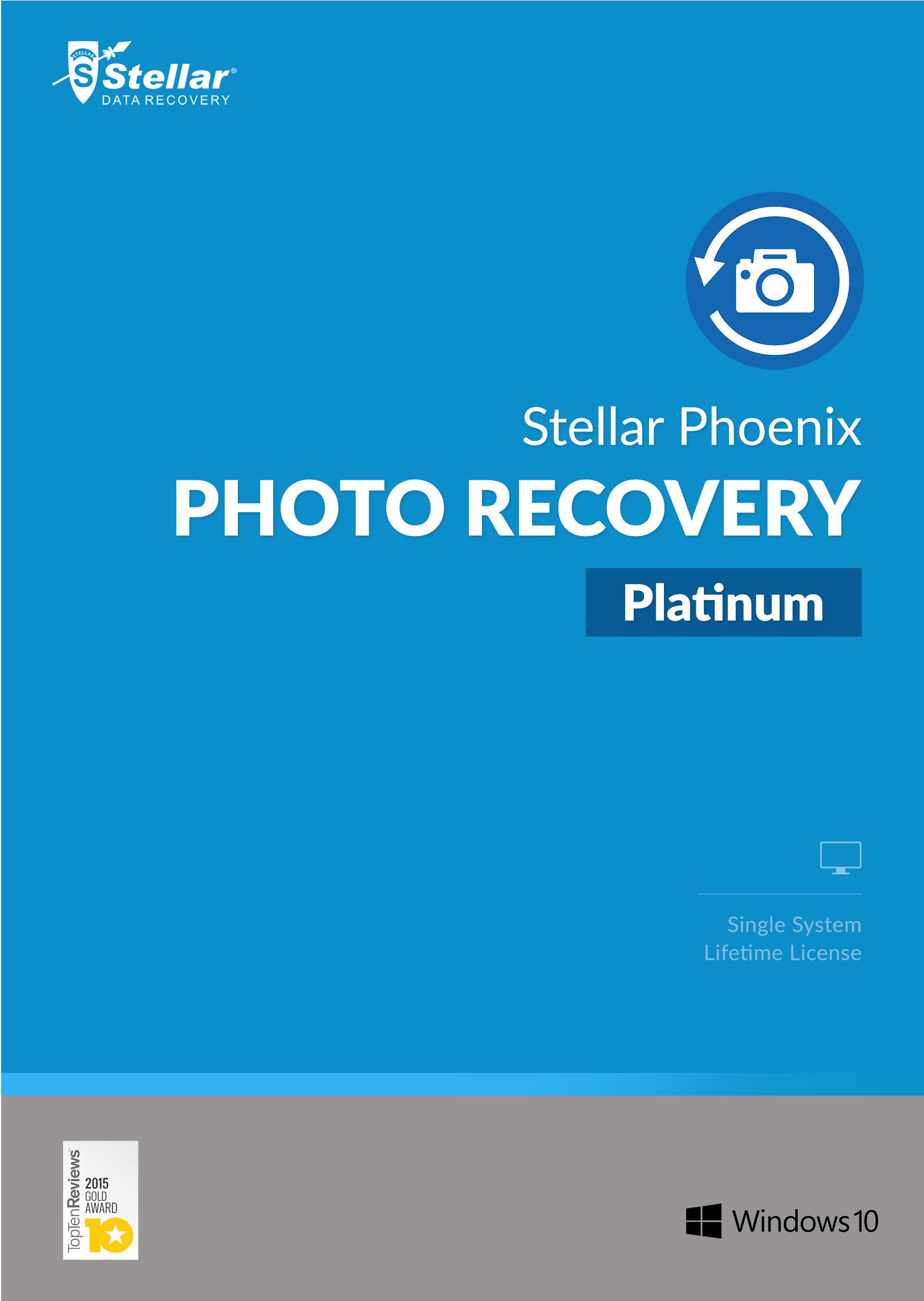 stellar phoenix photo recovery platinum windows download amazon