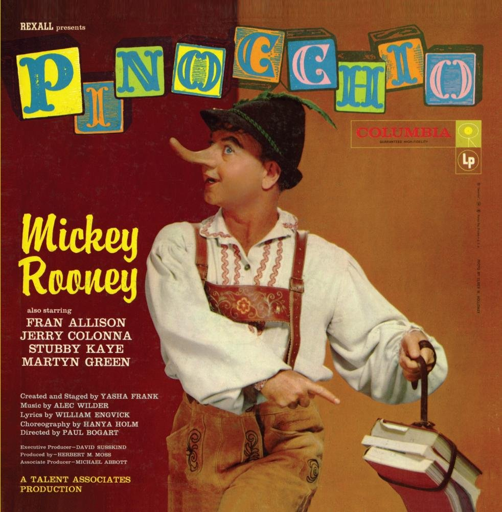 CD : Original Television Cast - Pinocchio (CD)