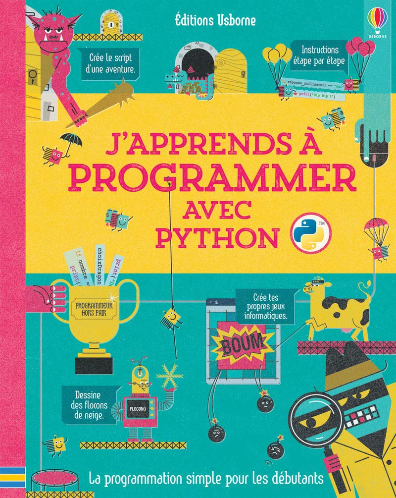 J Apprends A Programmer Avec Python French Edition Louie