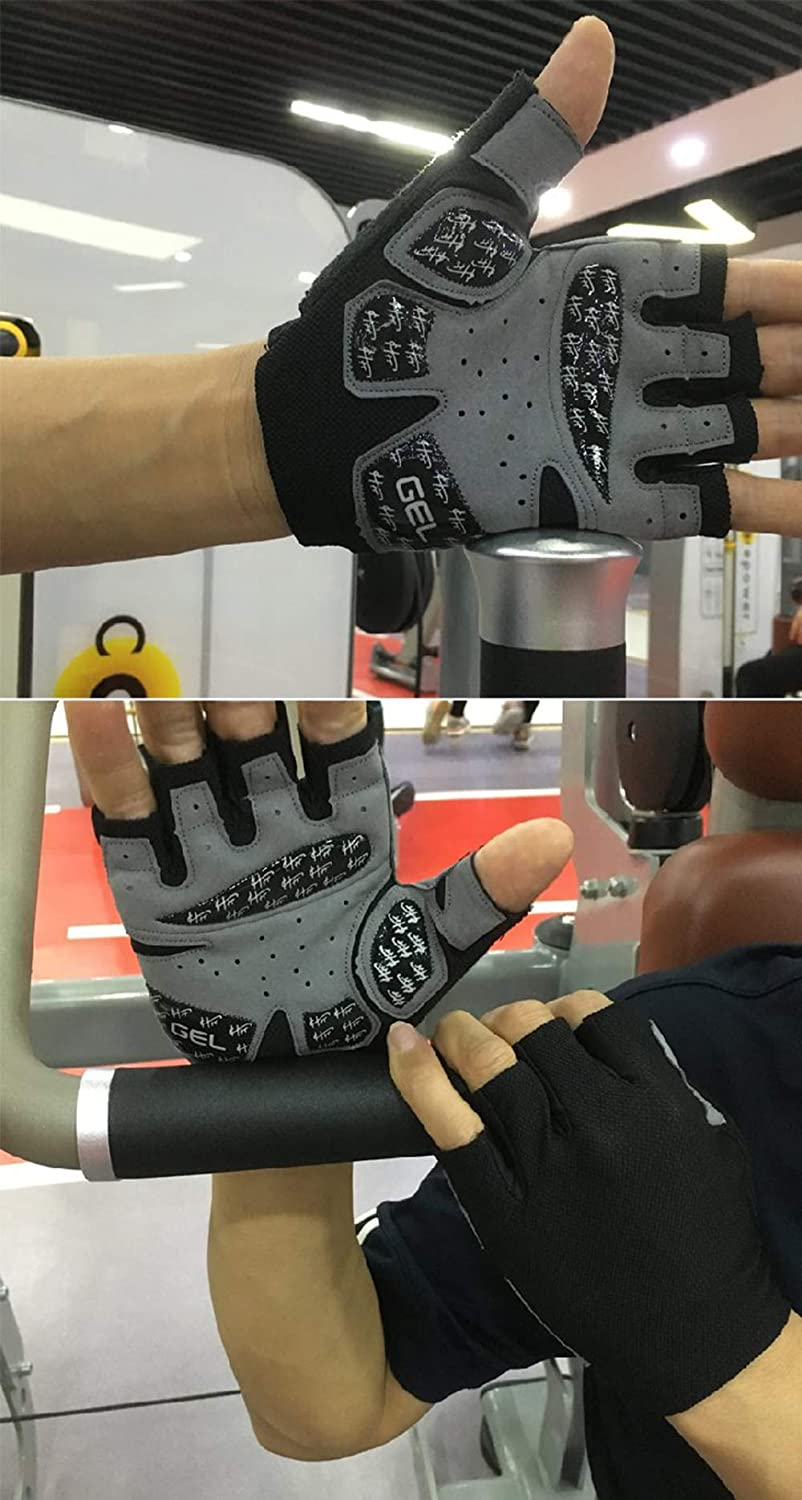 wearable exercise skid resistant dynamic breathable cycling thin sports gloves. semi finger yoga women Posture Fitness gloves