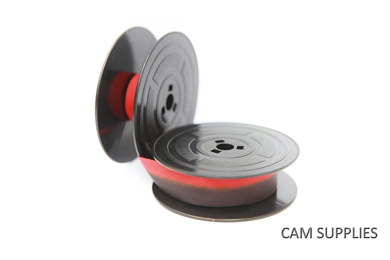 Olivetti Lettera 21 22 24 25 32 35 36 37 DL parte superior calidad 10 M carrete de cinta de máquina de escribir Twin, Negro/Rojo: Amazon.es: Oficina y ...
