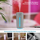 CLEEFUN Cool Mist Humidifier, Ultrasonic USB