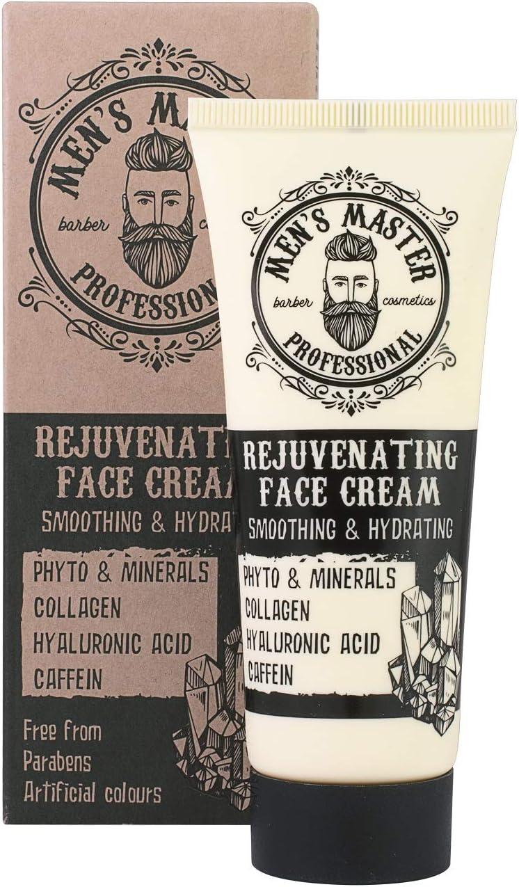 Crema facial rejuvenecedora hidratante antiarrugas para hombre