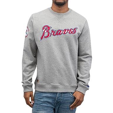 pretty nice 02555 5e9a4 New Era MLB ATLANTA BRAVES Custom Crew Neck Sweatshirt ...