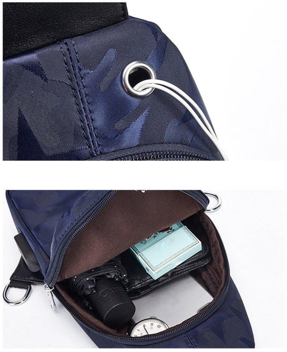 BAAFG Mens Backpack Bag Chest Pack For Outdoor,Black-OneSize Multiple Storage Purpose Shoulder Bag Carry Styles