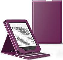 Capa Kindle Paperwhite WB® Premium Vertical Auto Hibernação Roxa