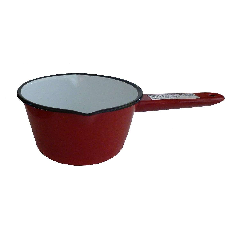 Falcon Enamel Sauce Gravy Soup Milk Pan 14cm Red UKKGC 54214RD
