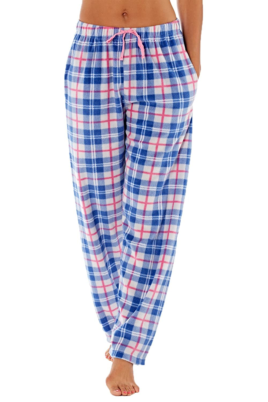 Selena Secrets Damen Weich Fleece Pyjama Hosen Pinguin 16-18 Eu 36-38 Gr/ö/ßen 8-10 Eu 44-46 Einhorn Fuchs Eule Motiv 12-14 Eu 40-42