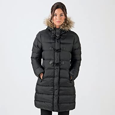ce53ea3521f7d Brave Soul Womens Wizard Parka in Black  Brave Soul  Amazon.co.uk  Clothing